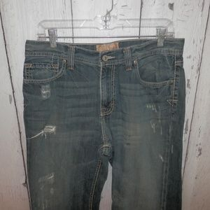 Buckle Mens Size 32x32 Tyler Destroyed Jeans Pants